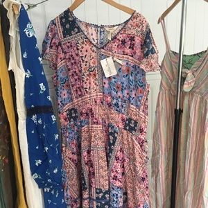 Women's Matilda Jane xl Wildlife maxi dress